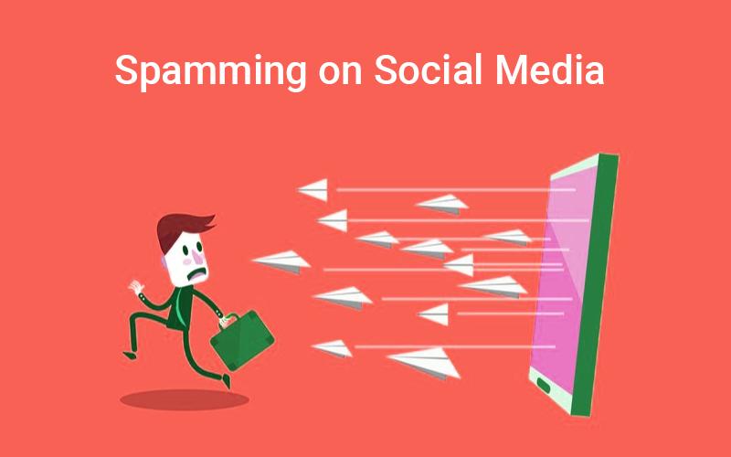 Spamming on social media